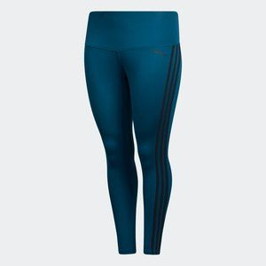 Adidas DESIGNED 2 MOVE 7/8 TIGHTS in Teal Blue 3X